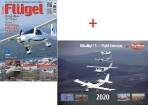 Fluegel Das Magazin Jahresabo Mit Ultralight E Flight Calendar